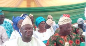 Hon Owoseye Sonuga at the occasion