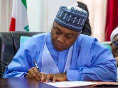 Nigerian Senate President - Dr Abubakar Bukola Saraki