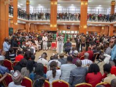 Nigerian Senate's World Press Conference on the National Assembly Invasion by DSS