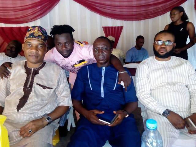 Hon Tola Belgium, KRD, Omooba Sunday Solarin and Mr Niyi Ojuade