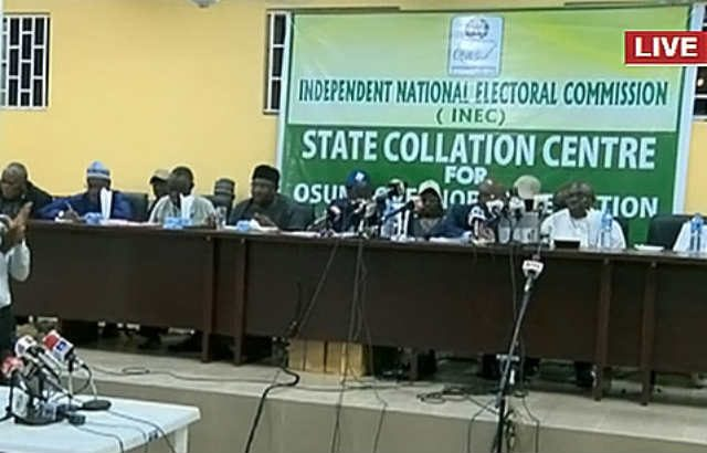 LIVE UPDATES: INEC Collation Of Results For Osun State