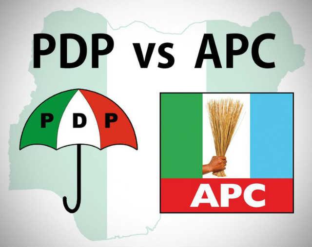 Peoples Democratic Party (PDP) and All Progressive Congress (APC)