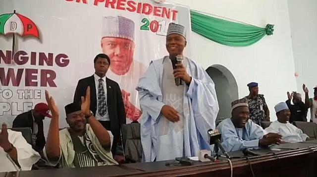 Senate President Bukola Saraki Takes GrowNigeria Campaign to Katsina State
