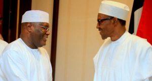 Alhaji Atiku Abubakar and President Muhammadu Buhari
