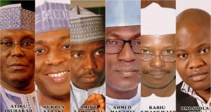 PDP 2018 Presidential Primary Contenders
