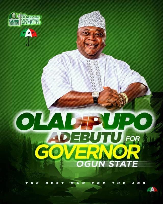 Hon Ladi Adebutu - Ogun PDP Gubernatorial Candidate for 2019 General Elections
