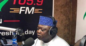 Hon Ladi Adebutu at Fresh FM Ibadan