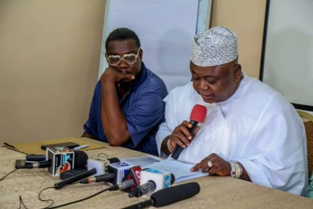 Hon Ladi Adebutu's Media Brief on INEC List for Ogun PDP Governorship Elections in 2019