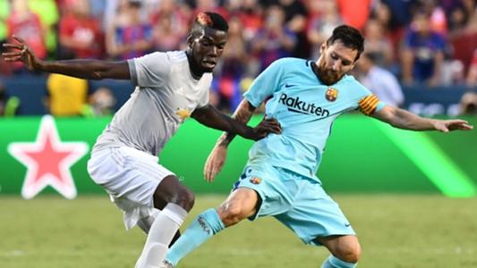 Lionel Messi and Paul Pogba