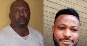 Dismissed Police Inspector, Olalekan Ogunyemi and Late Kolade Johnson