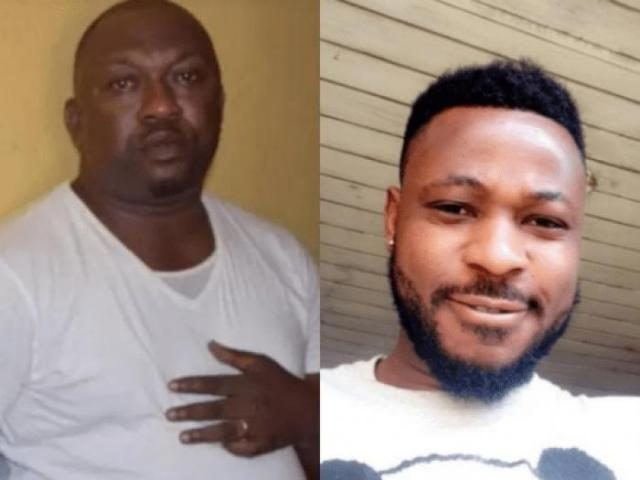 Dismissed Police Inspector, Olalekan Ogunyemi and Late Kolade Johnson