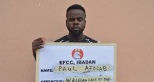 Paul Afolabi arraigned by EFCC
