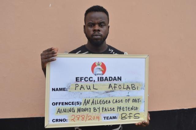 Paul Afolabi arraigned by EFCC