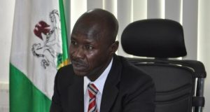 The Acting Chairman of the EFCC, Ibrahim Magu