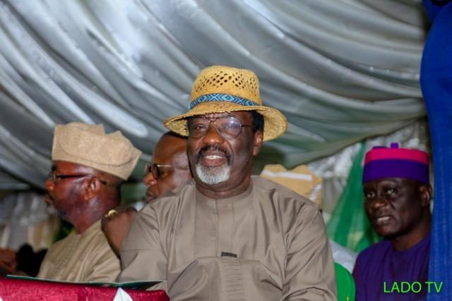 Former Ogun State Commissioner for Community and Cooperative Development, Prince Lekan Tejuoso