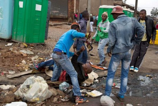 South Africans' Xenophobic Attack on Foreigners