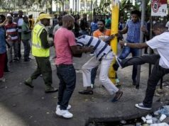 Xenophobia Scene in South Africa