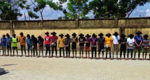 27 Suspected Internet Fraudsters arrested in Imo State