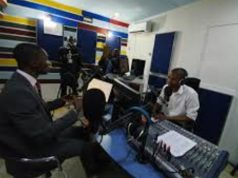 EFCC Official, Mr Abdulrasheed Bawa at Wave FM Port Harcourt (1)