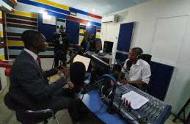 EFCC Official, Mr Abdulrasheed Bawa at Wave FM Port Harcourt (1)