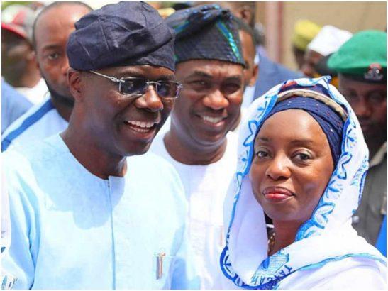 Ibijoke Sanwo-Olu and Babajide Sanwo-Olu