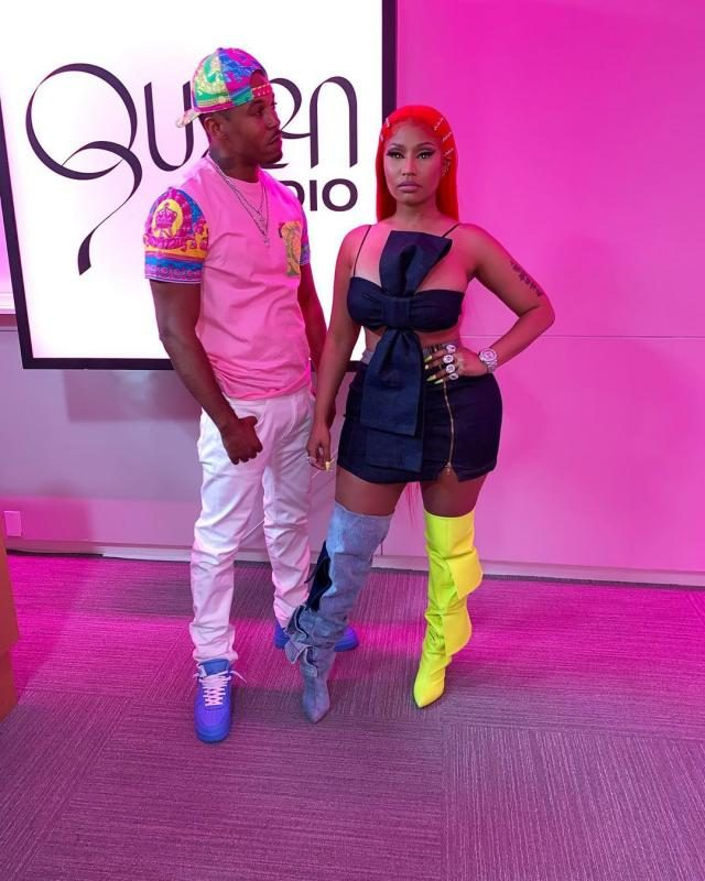 Nicki Minaj and husband, Kenneth Petty