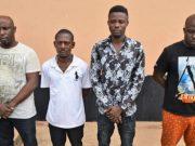 Oladipupo Adebayo, Bimbo Bilewu, Ibrahim Odunayo and Oyeleye Oluwatosi