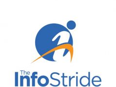 The InfoStride Square Logo