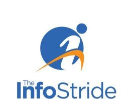 The InfoStride Square Logo