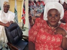 Yinka Quadri and his wife