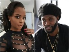 Dillish Mathews and Emmanuel Adebayor
