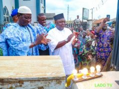 Adebutu appreciates the communal efforts of Ijagun people