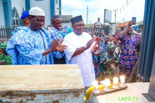 Adebutu appreciates the communal efforts of Ijagun people
