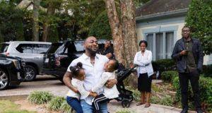Davido and his kids