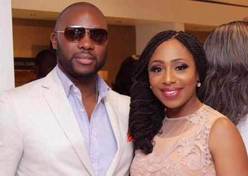 Dakore Akande and her husband