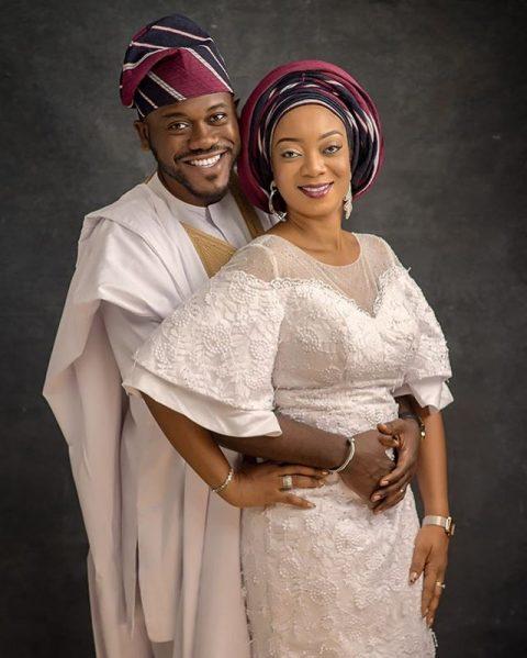 Deyemi Okanlawon and his wife