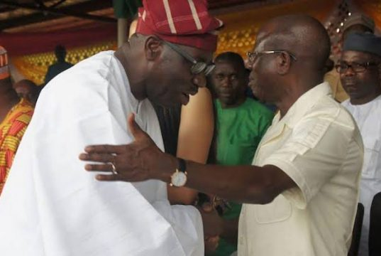 Godwin Obaseki and Adams Oshiomhole