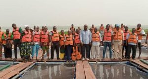 Lagos State empowers 40 Youth Fish Farmers with Cage Culture Farming