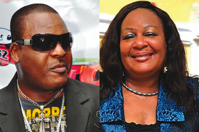 Sammie Peters and Sir Shina Peters