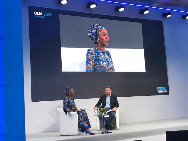 Toyin Saraki Advocates for Rapid Frontline Solutions to Maternal Mortality