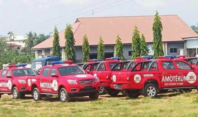 Western Nigeria Security Network, Operation Amotekun