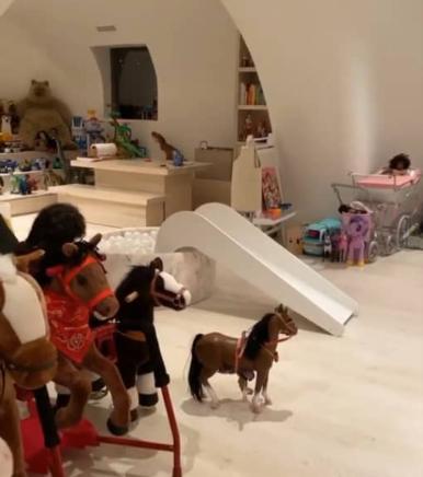 Kim Kardshian and kids