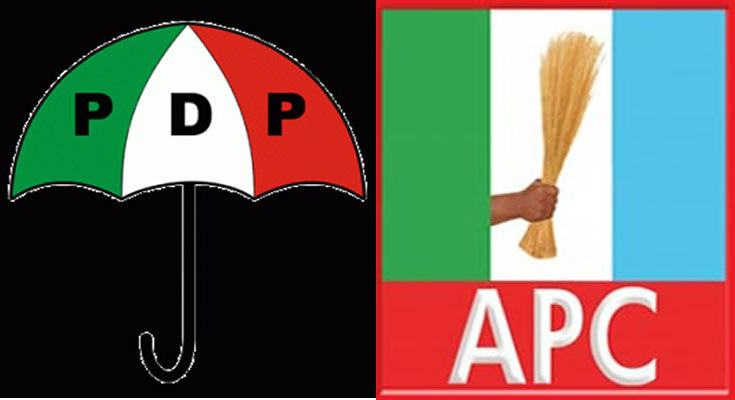 The All Progressives Congress (APC) and Peoples Democratic Party (PDP)