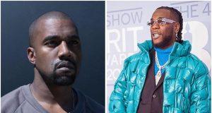Kanye West and Burna Boy