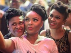 Omoni Oboli and Chioma Akpotha