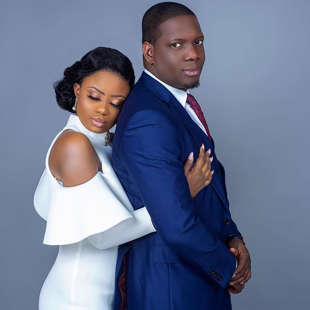 Seilat Adebowale and her husband