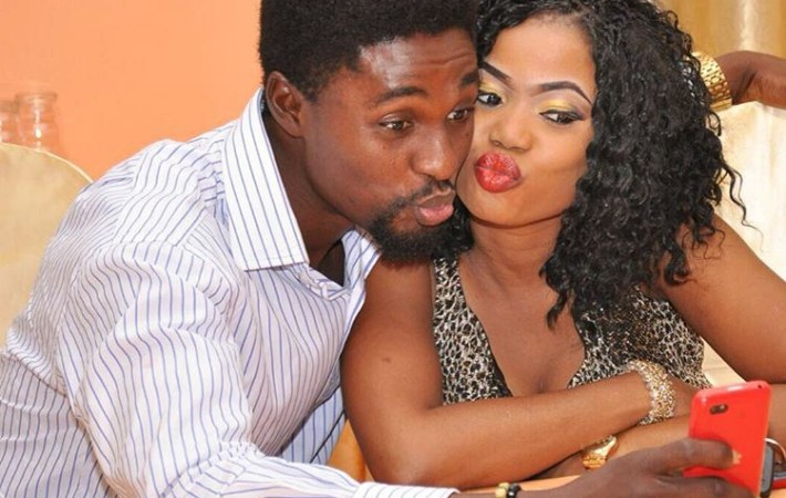 Adeniyi Johnson and his wife