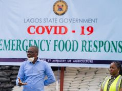 Lagos State Governor Babajide Sanwo-olu launches COVID-19 Emergency Food Response