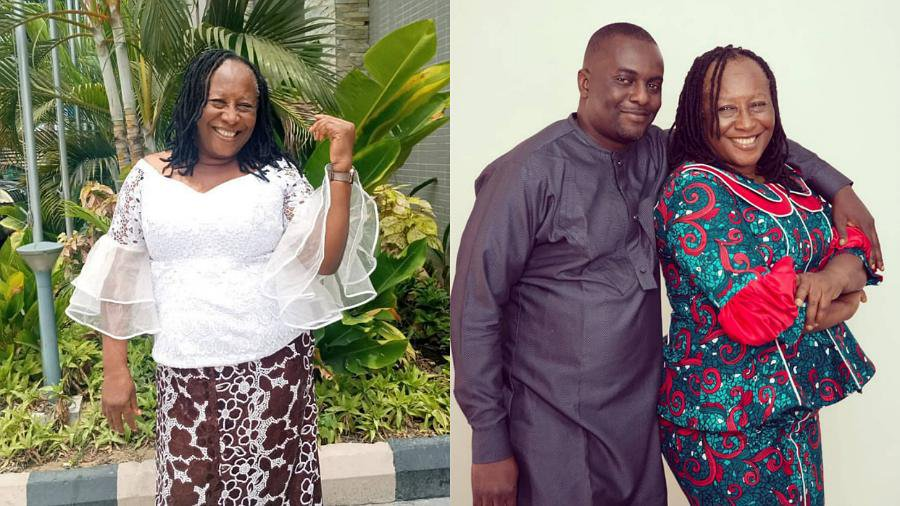 Patience Ozokwor and her son