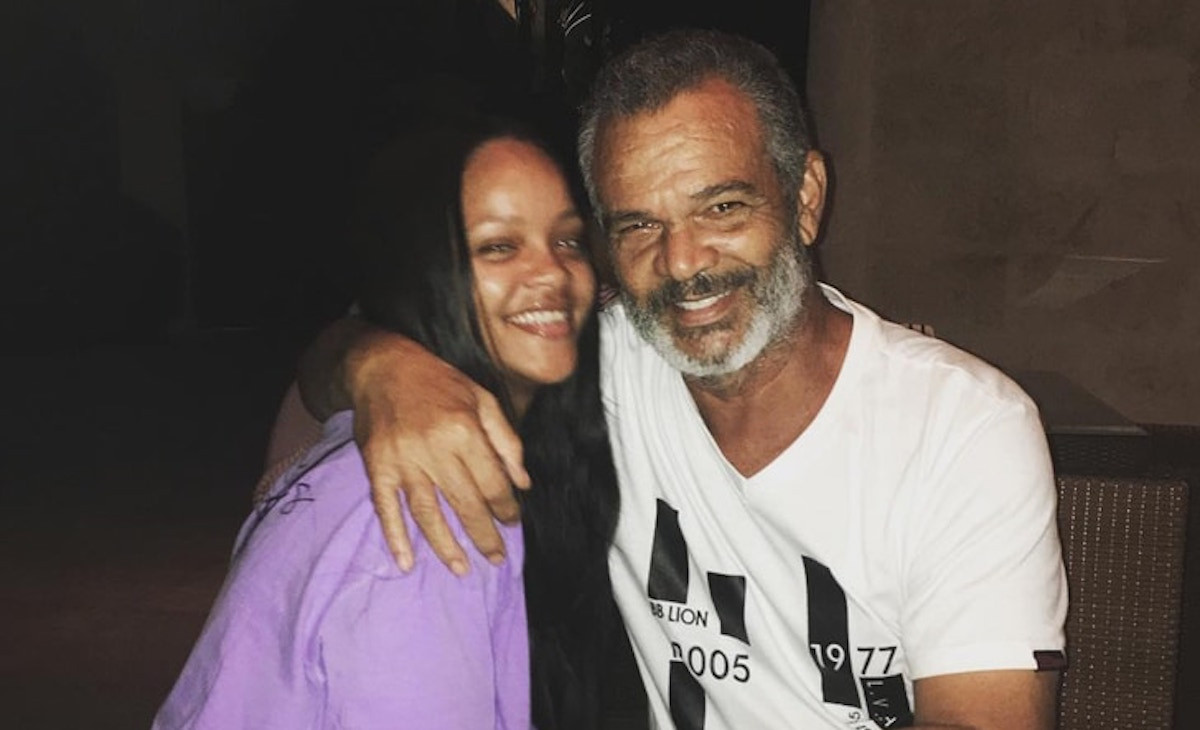 Rihanna and her Dad